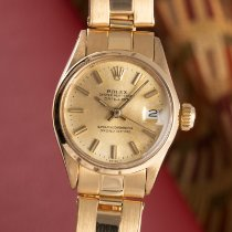 Rolex Yellow gold Automatic Gold 26mm pre-owned Oyster Perpetual Lady Date