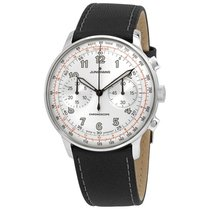 Junghans Meister Telemeter Steel 40,8mm Silver Arabic numerals United States of America, Indiana, Indianapolis