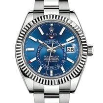 Rolex Sky-Dweller Steel 42mm Blue No numerals United States of America, Pennsylvania, Philadelphia