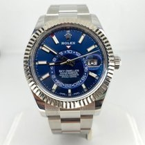 Rolex Sky-Dweller Steel 42mm Blue No numerals United States of America, Pennsylvania, Philadelphia