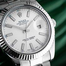 Rolex Datejust II Złoto/Stal 41mm Biały Bez cyfr Polska, Warszawa