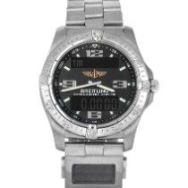 Breitling Aerospace Avantage Титан 42mm Черный Aрабские