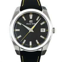 Seiko Steel Quartz Black No numerals 40mm new Grand Seiko