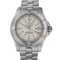 Breitling Colt Steel 41mm Silver Arabic numerals United States of America, Maryland, Baltimore, MD