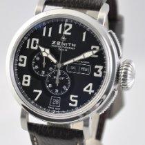 Zenith Pilot Type 20 Annual Calendar Steel 48mm Black Arabic numerals United States of America, Ohio, Mason