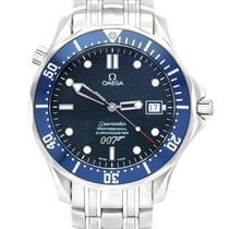 Omega Seamaster Diver 300 M Steel 41mm Blue No numerals United Kingdom, Manchester