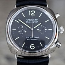 Panerai Radiomir Chronograph Steel 42mm Black Arabic numerals United States of America, Massachusetts, Boston