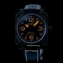 Bell & Ross BR01-92-S Steel BR 01-92 38mm pre-owned