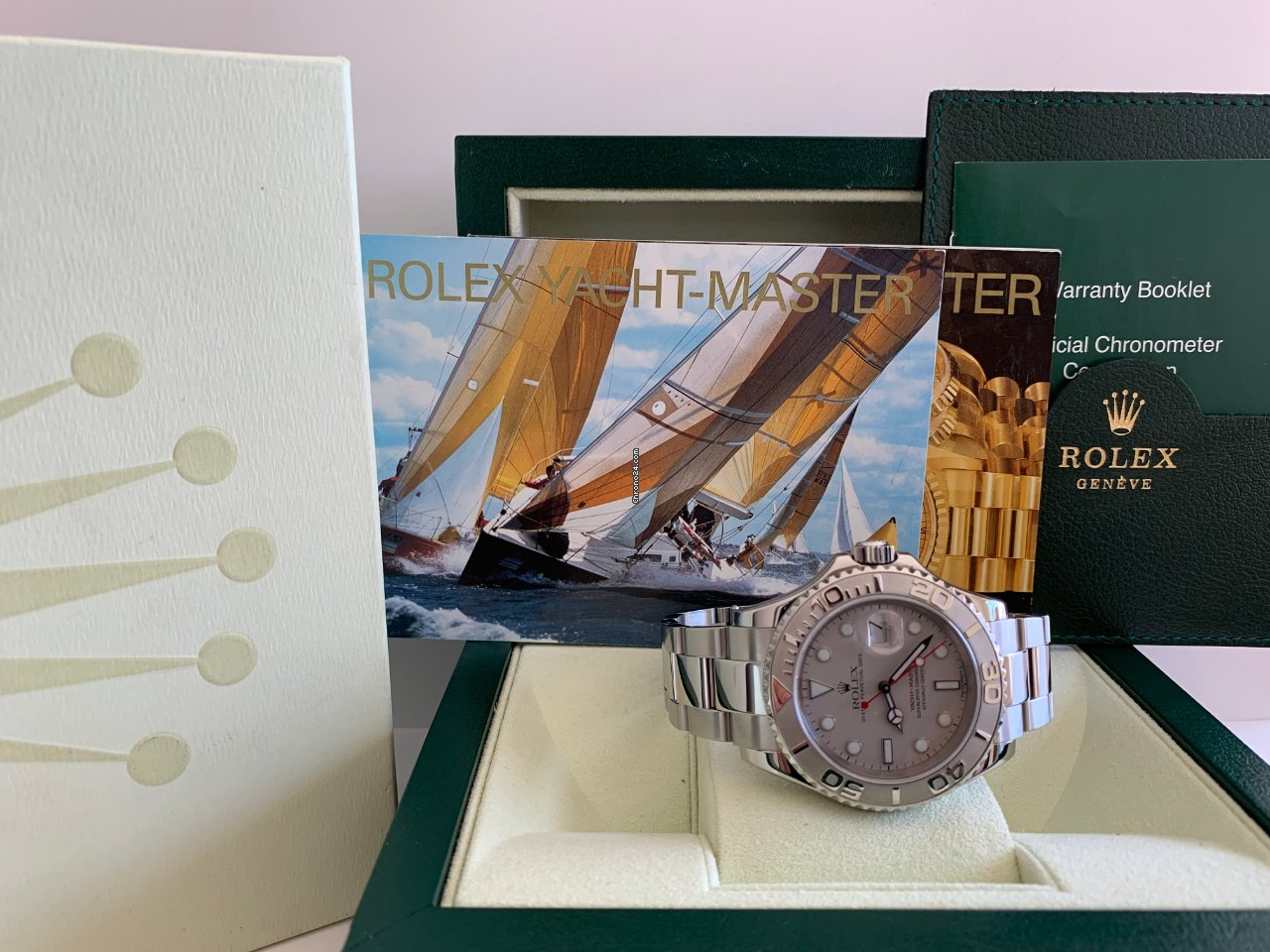 Rolex Yacht-Master 40 Rolex Yacht-Master 16622 2002 подержанные