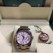 Rolex Datejust Turn-O-Graph nuovo 2007 Automatico Orologio con scatola e documenti originali 116261