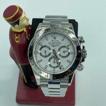 Rolex Daytona Steel 40mm White No numerals Malaysia