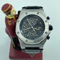 Audemars Piguet Royal Oak Offshore Chronograph Steel 42mm Black No numerals Malaysia
