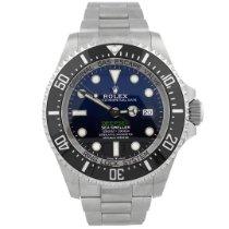 Rolex Sea-Dweller Deepsea новые Автоподзавод Часы с оригинальными документами и коробкой 126660 D-BLUE