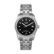 Tudor Glamour Date Steel 36mm Black No numerals United States of America, Pennsylvania, Bala Cynwyd