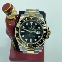 Rolex GMT-Master II 116713LN Very good Gold/Steel 40mm Automatic