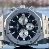 Audemars Piguet Royal Oak Chronograph Steel 41mm Black No numerals United States of America, Illinois, ROMEOVILLE