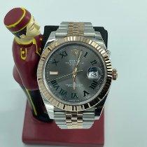 Rolex Datejust II Rose gold 41mm Grey Roman numerals Malaysia