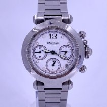 Cartier 2412 Steel Pasha C 36mm pre-owned