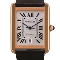 Cartier Tank Solo Or rose 31mm Argent Romains France, Paris