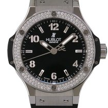 Hublot Big Bang 38 mm Acero 38mm Negro