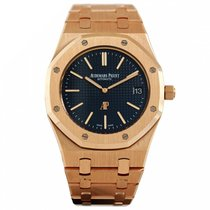 Audemars Piguet Royal Oak Jumbo Or rose 39mm Bleu