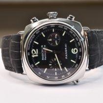 Panerai Radiomir Rattrapante Steel 45mm Black Arabic numerals