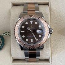 Rolex (ロレックス) Yacht-Master 新品 2021 自動巻き 正規のボックスと正規の書類付属の時計 126621