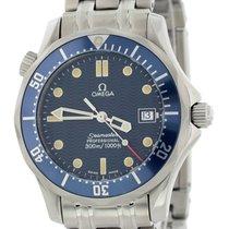 Omega Seamaster Diver 300 M Steel 36mm Blue United States of America, New York, New York