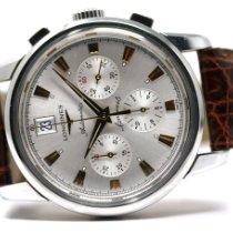 Longines Conquest Heritage Steel Silver No numerals