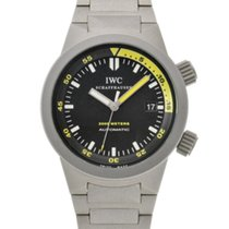 IWC Aquatimer Automatic 2000 Титан 42mm Черный