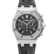 Audemars Piguet Royal Oak Offshore Lady Otel 37mm Negru
