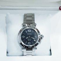 Cartier Pasha 2550 Meget god Stål 35mm Automatisk