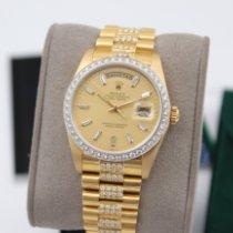 Rolex Day-Date 18048 Sehr gut Gelbgold 36mm Automatik Deutschland, Pforzheim