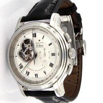 Zenith El Primero Chronomaster Steel 45mm Silver Roman numerals