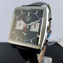TAG Heuer Monaco neu 2021 Automatik Chronograph Uhr mit Original-Box und Original-Papieren CBL2113.FC6177