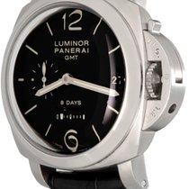 Panerai Luminor 1950 8 Days GMT Steel 44mm Black Arabic numerals United States of America, Texas, Dallas