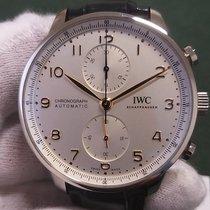 IWC Portuguese Chronograph Сталь 41mm Cеребро Aрабские