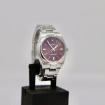 Rolex Oyster Perpetual 39 Acier 39mm Violet Sans chiffres
