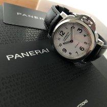 Panerai Luminor Base 8 Days nuevo 2021 Cuerda manual Reloj con estuche y documentos originales PAM 00561
