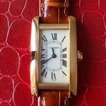 Cartier Tank Américaine nieuw Quartz Horloge met originele doos w2601556