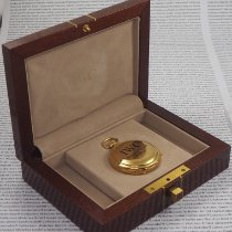 IWC Uhr gebraucht Gelbgold Handaufzug Uhr mit Original-Box