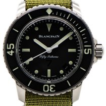 Blancpain Сталь Автоподзавод 5015E1130 подержанные