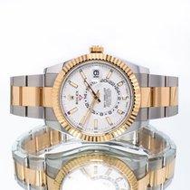 Rolex Sky-Dweller Gold/Steel 42mm White United Kingdom, Essex