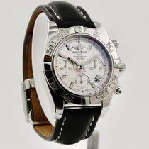 Breitling Chronomat 41 Сталь 41mm Белый Без цифр