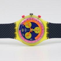 Swatch Пластик 37,5mm Кварцевые SCJ101 подержанные