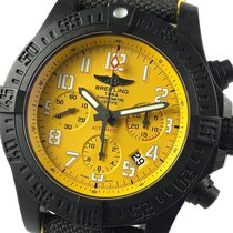Breitling Avenger Hurricane 45mm Черный Aрабские