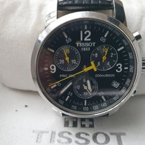 Tissot PRC 200 gebraucht Schwarz Chronograph
