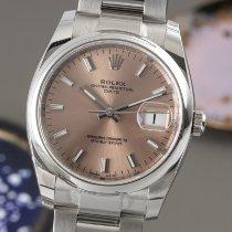 Rolex Oyster Perpetual Date 115200 Nienoszony Stal 34mm Automatyczny
