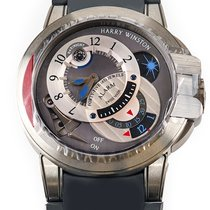 Harry Winston Steel 44mm Manual winding OCEMAL44ZZ001 new United States of America, Florida, Hollywood