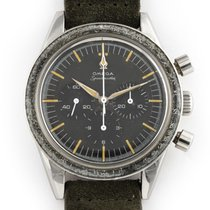 Omega Speedmaster pre-owned Black